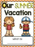 Summer Writing Class Book