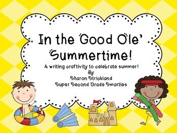 Summer Writing Craftivity