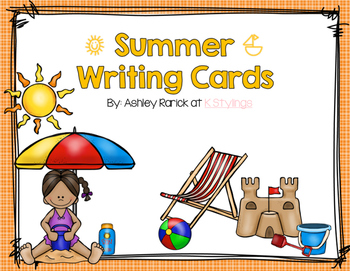 Summer Writing Display Cards