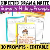 Summer Writing - Draw It! Write It! Read It! Summer Journa