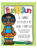 Summer Writing Flip Book Template