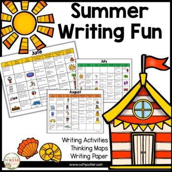 Summer Writing Fun Set