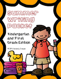 Summer Writing & Handwriting Packet, Kindergarten & First Grade