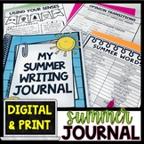 Summer Writing Journal