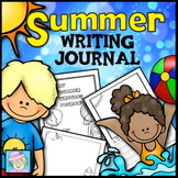 Writing Paper Kindergarten 1st 2nd for Summer | Summer Writing Journals