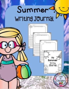 Summer Themed Writing Journal