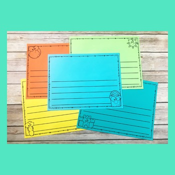 Summer Writing Journal | Elementary Writing Pages