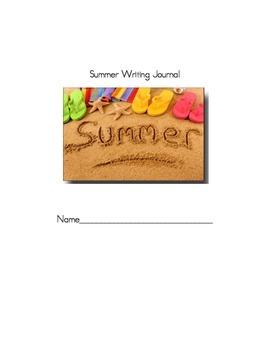 Summer Writing Journal Activities
