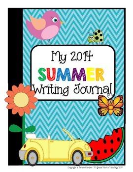 2014 Summer Writing Journal & Calendar {and much more}