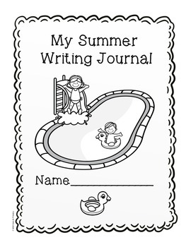 Summer Writing Journal Covers