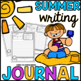 Summer Writing Journal: End of Year Activity, Summer Work, Summer School