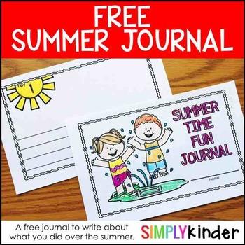 Summer Writing Journal (FREE)