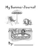 Summer Writing Journal - Kindergarten & First Grade