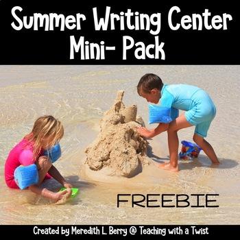 Summer Writing Mini-Pack