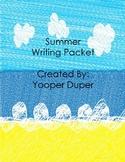 Summer Writing Packet
