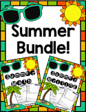 Summer Math & Writing Bundle