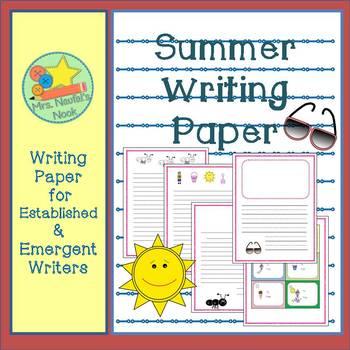 Writing Paper Summer