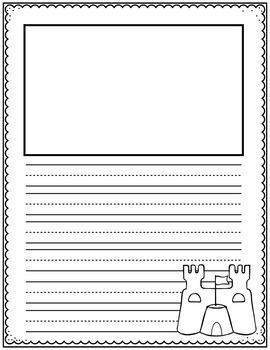 Summer Writing Paper Bundle