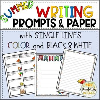 Summer Writing Paper - HWT Lines