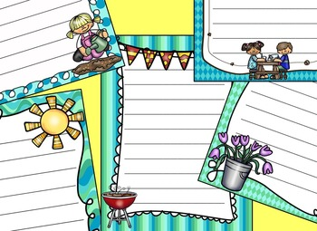 Summer Writing Paper - Literacy - Writing Centers