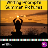 Summer Writing Picture Prompts to Practice Inferencing