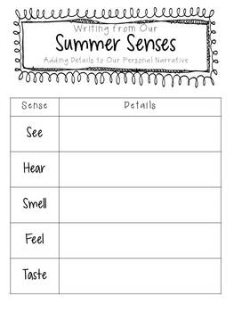 Summer Writing: Poetry, Personal Narratives, Persuasive Writing, and More!