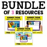 Summer Writing Prompt Bundle