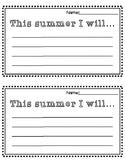 Summer Writing Prompt {FREEBIE}