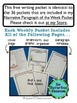 Summer Writing Prompt Narrative Sample Packet {Common Core