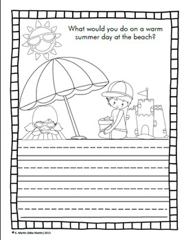 Summer Writing Prompt Pack
