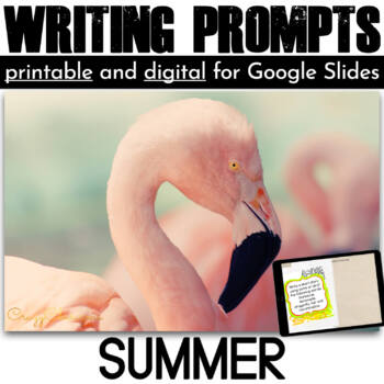 Summer Writing Prompts {60 cards}