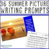 Summer Writing Prompts | Camping, Hiking, & Back to School Writing Activities