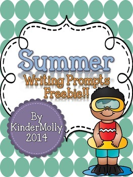Summer Writing Prompts - FREEBIE!