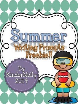 Summer Writing Prompts - FREEBIE!
