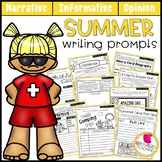 Summer Writing Prompts | Real-World and Draw & Write Forma
