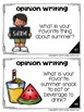 Summer Writing Prompts: Opinion, Informative, Narrative: K-2