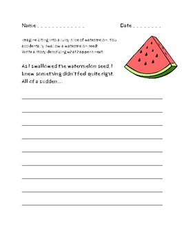 Summer Writing Prompts Pack