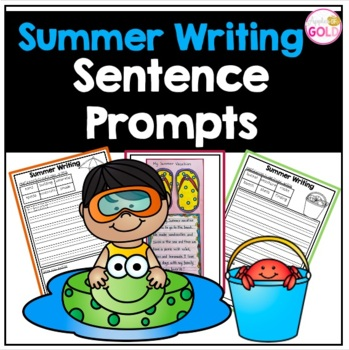 Summer Writing Prompts + Writing Activity