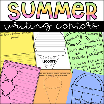 Summer Writing Prompts and Activities