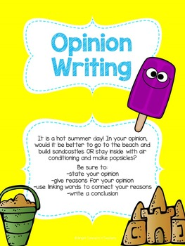 Write Away! Summer Edition {Common Core Writing Prompts & More}