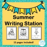 Summer Writing Station Packet