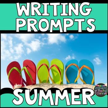 Summer Writing Task Cards Freebie