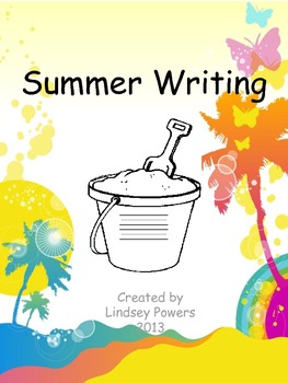 Summer Writing Template/Prompt
