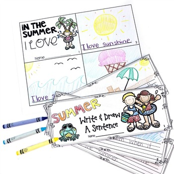 Summer Writing and Word Work Activities