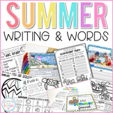 Writing Activities and Word Work for Summer | Distance Learning