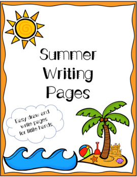 Summer Writing Worksheets