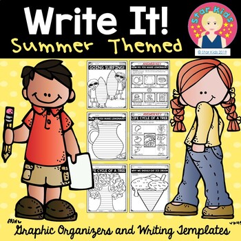 Summer Writing for At Home Learning