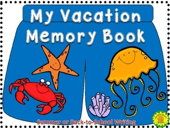 Summer Vacation Memory Book