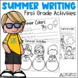 Summer Writing Activities First Grade   Summer Writing Prompts