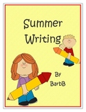 Summer Writing prompts and ideas